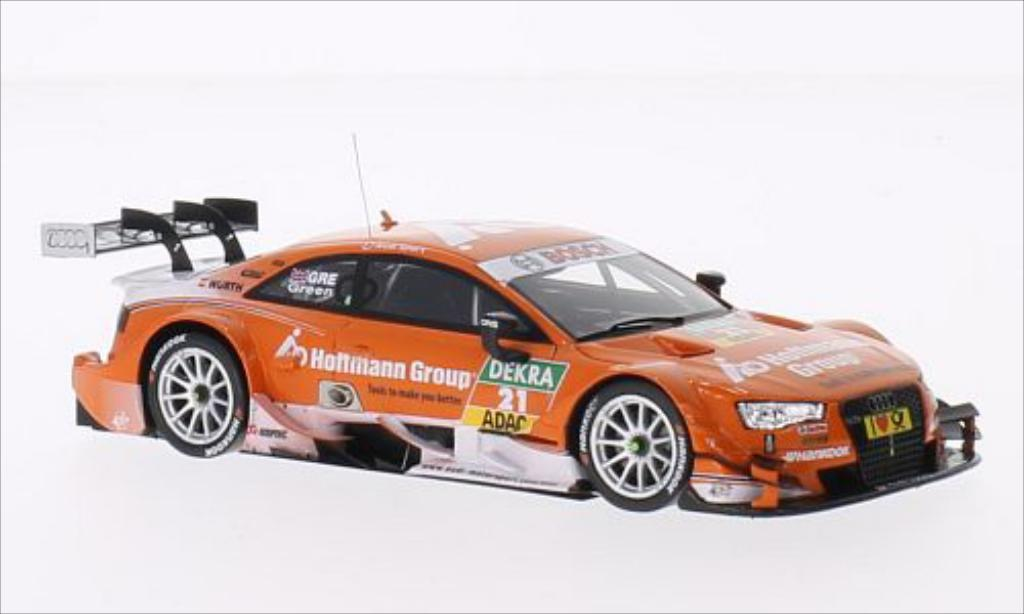 Audi RS5 DTM 1/43 Spark No.21 2014 miniature
