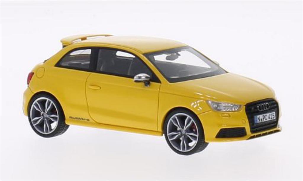 Audi S1 1/43 Neo giallo 2014 miniatura