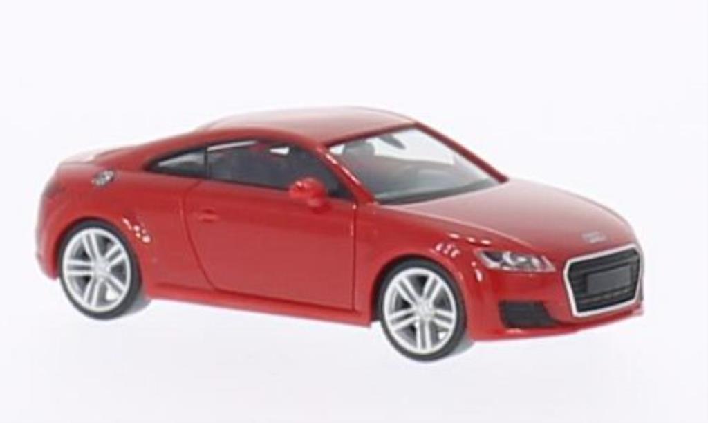 Audi TT 1/87 Herpa (8S) red 2014 diecast