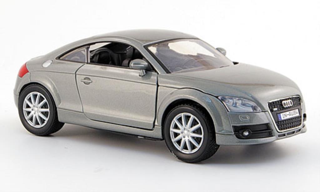 Audi TT 1/24 Motormax Coupe grise 2006 miniature