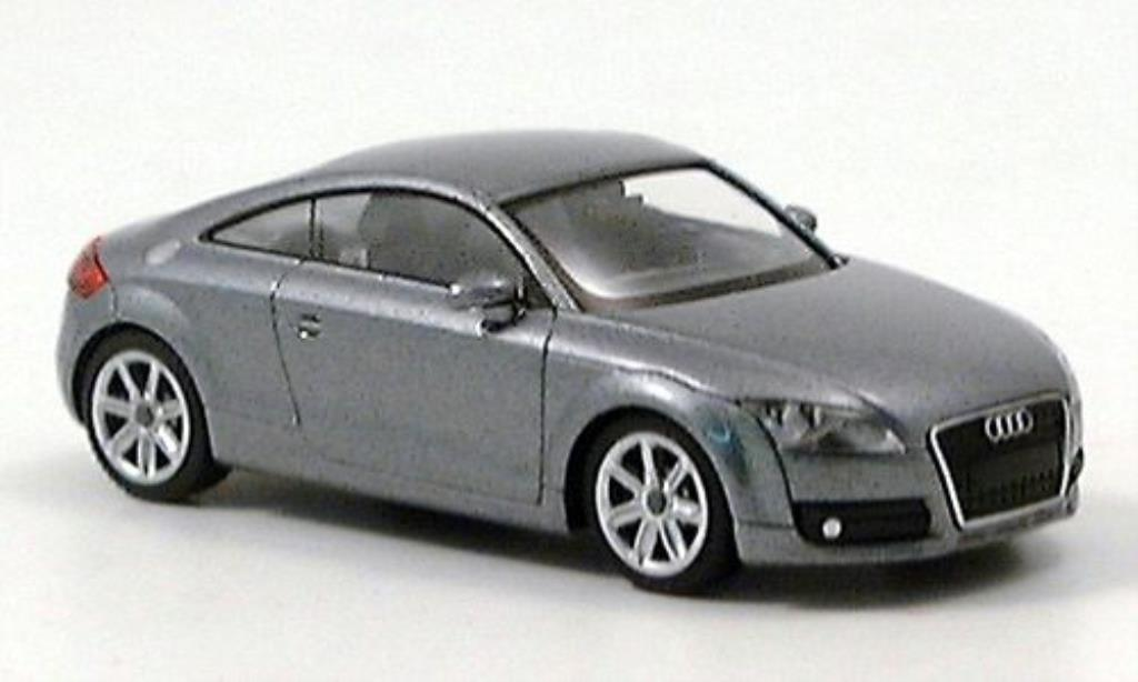 Audi TT 1/87 Wiking Coupe grey 2006 diecast model cars