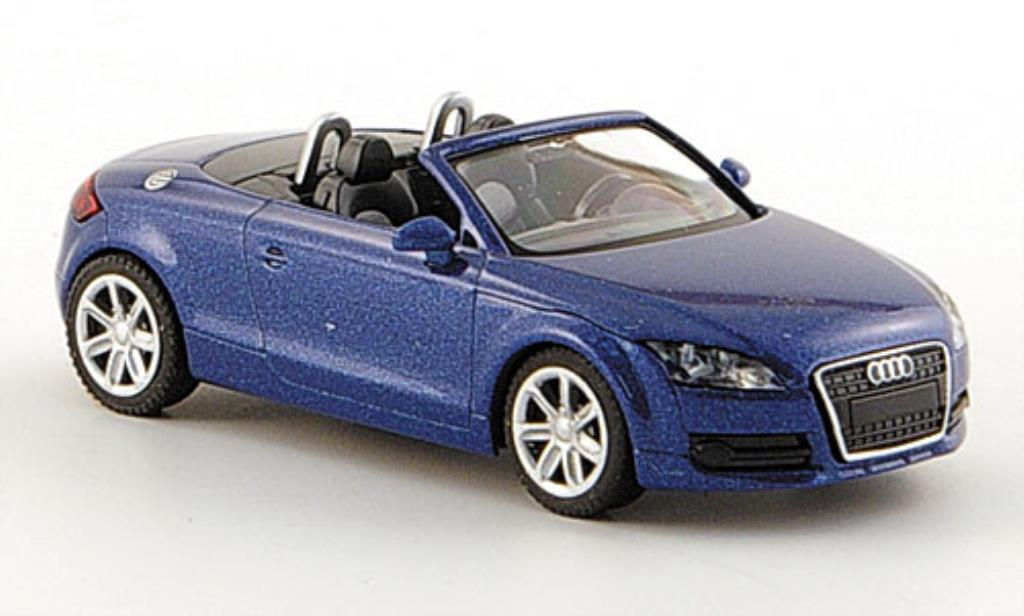 Audi TT Roadster 1/87 Wiking Roadster bleu diecast model cars