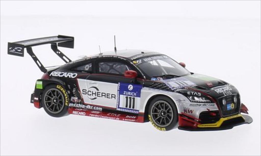 Audi TT RS 1/43 Spark 2.0 No.111 Raeder Motorsport 24h Nurburgring 2014 /D.Schmidtmann miniature
