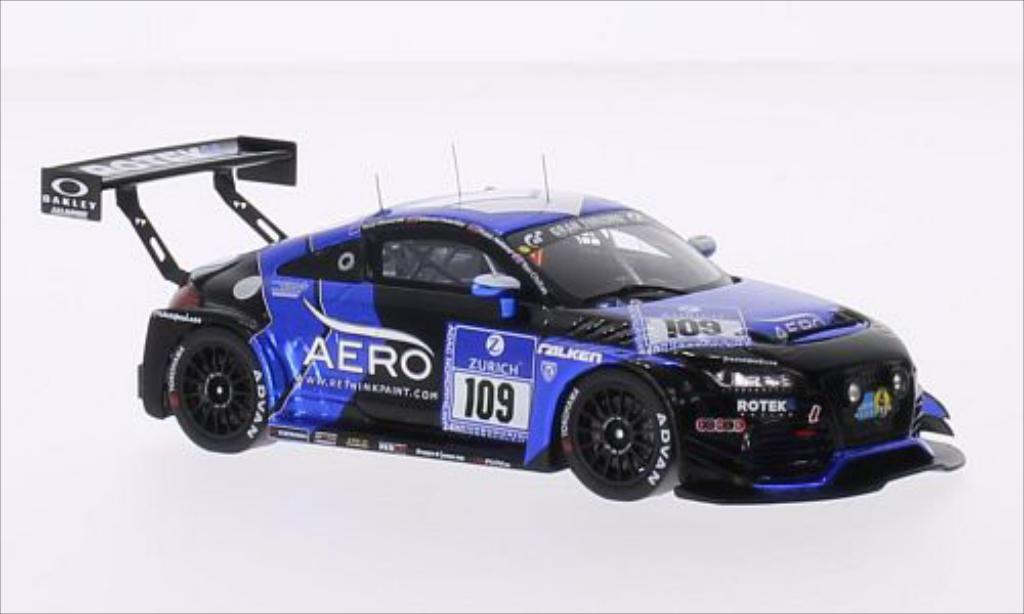 Audi TT RS 1/43 Spark No.109 rougeek Racing 24h Nurburgring 2015 /T.Chilton miniature