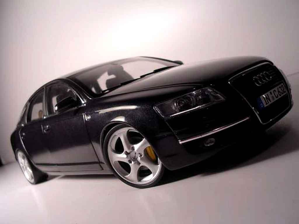 Audi A6 1/18 Norev jantes porsche