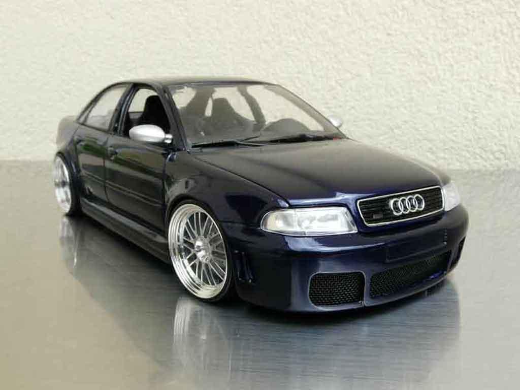 Audi RS4 1/18 Ut Models b5 jantes bbs 20 pouces miniature