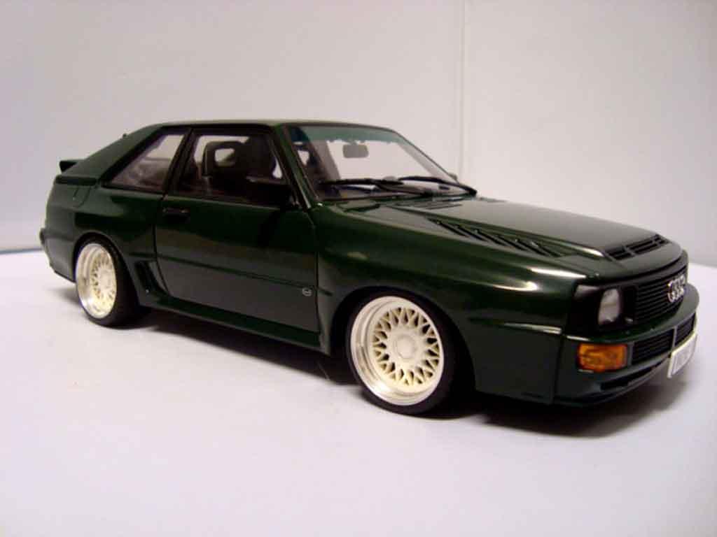 Audi Sport Quattro 1/18 Autoart swb 1984 grun miniature