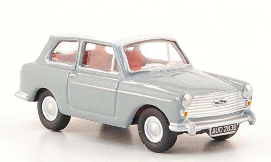 Austin A40 1/76 Oxford grise/blanche miniature