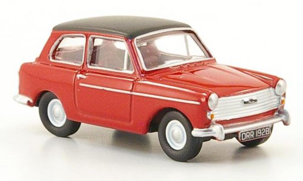 Austin A40 1/76 Oxford rouge/noire miniature