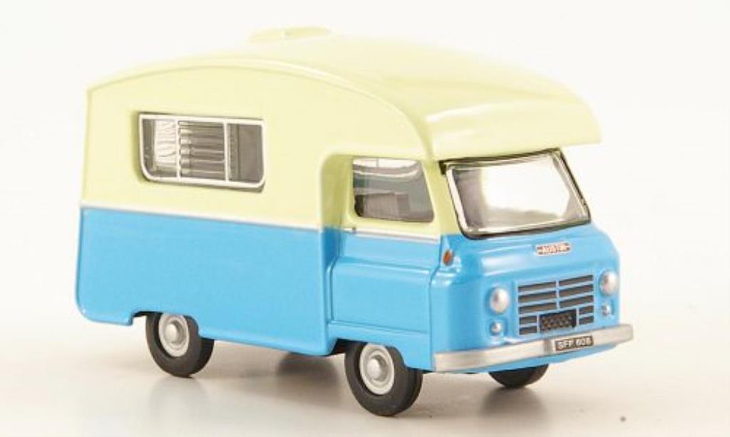 Austin J2 1/76 Oxford Paralanian bleu/beige miniature
