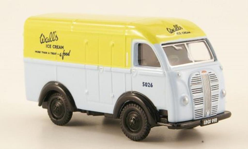 Austin K8 1/76 Oxford Threeway Van Walls Ice Cream miniature