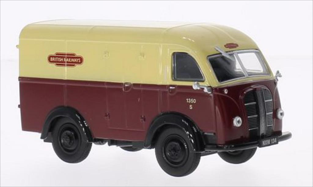 Austin K8 1/43 Oxford Van RHD British Railways miniature