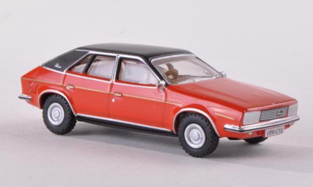 Austin Princess 1/76 Oxford rouge/noire 1975 miniature