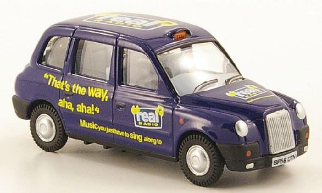 Austin TX4 1/76 Oxford Taxi Real Radio miniature