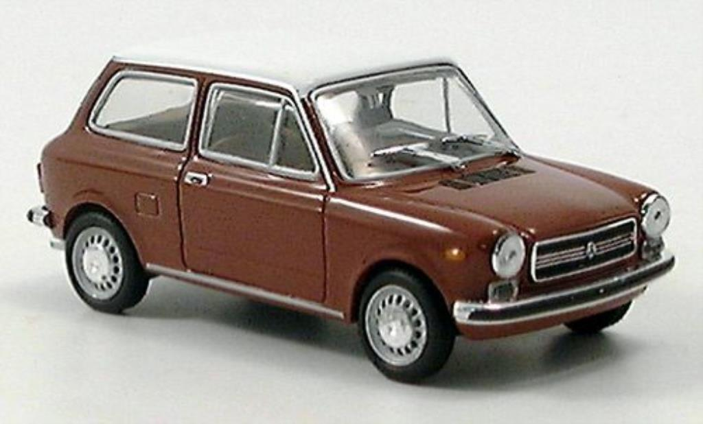 Autobianchi A112 1/43 Starline marron/blanche miniature