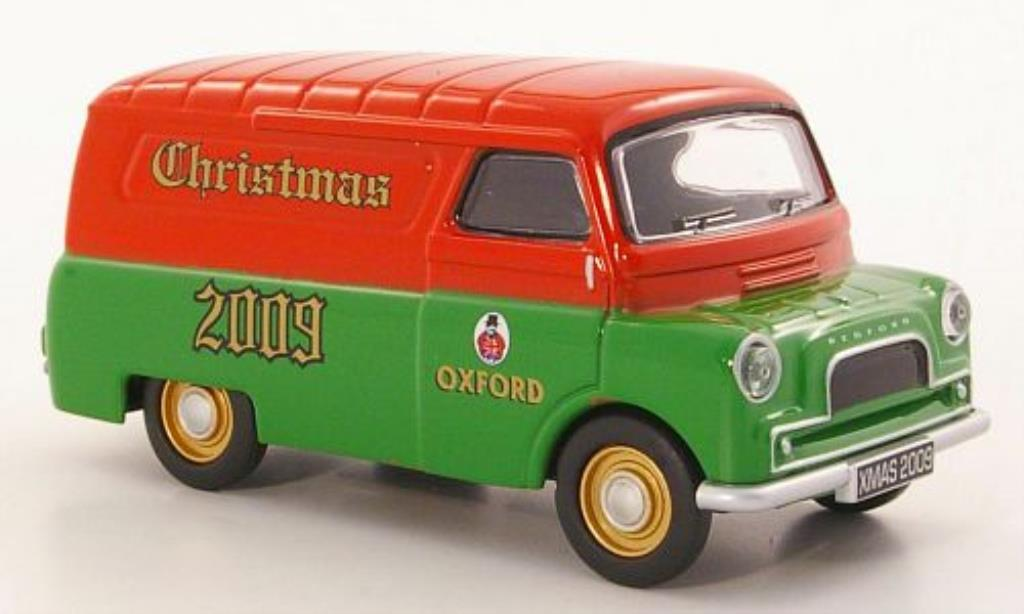 Bedford CA 1/43 Oxford Van Christmas 2009 miniature
