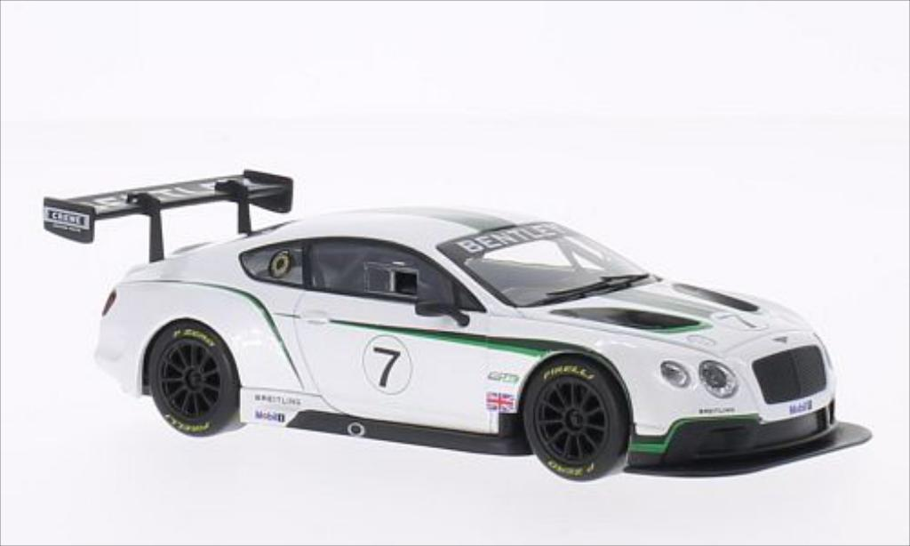 Bentley Continental 1/43 Corgi GT3 Launch Car No.7 miniature