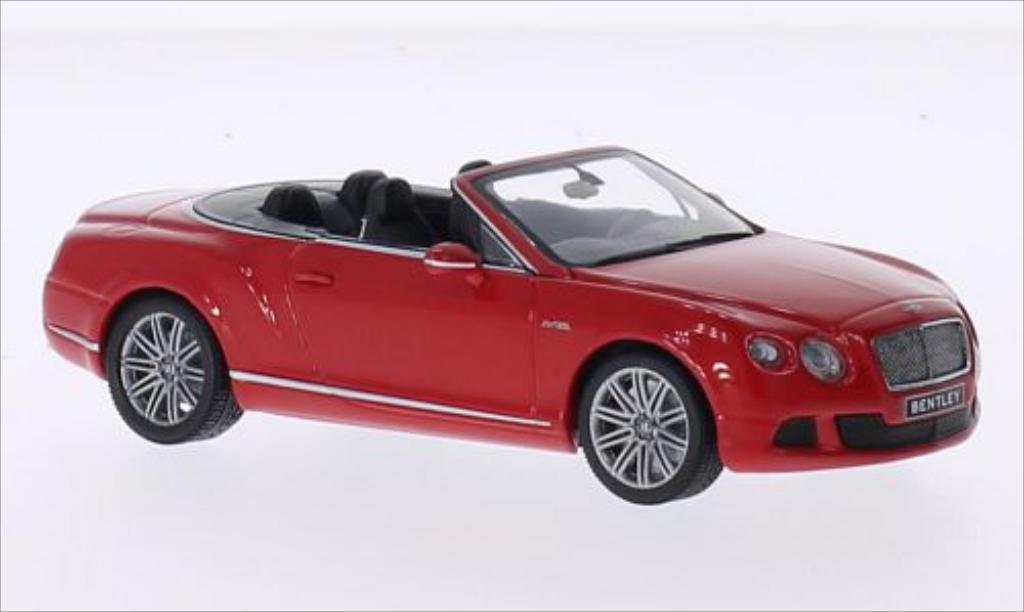 Bentley Continental GTC 1/43 Minichamps Speed rot 2012 modellautos