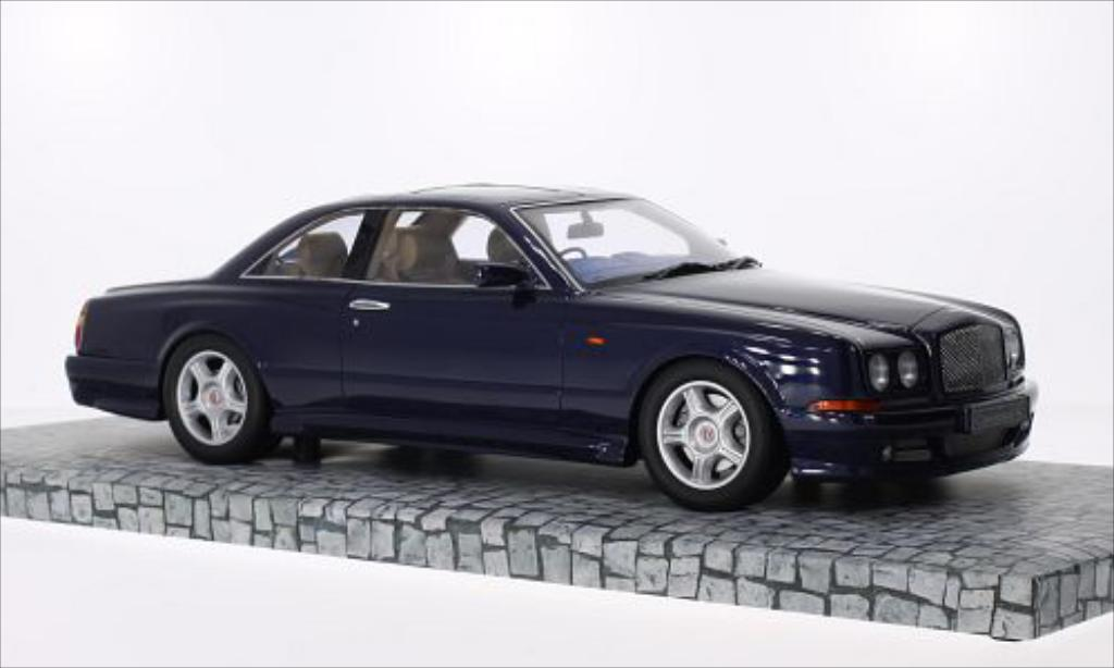 Bentley Continental 1/18 Minichamps SC metallic-bleu RHD 1998 miniatura
