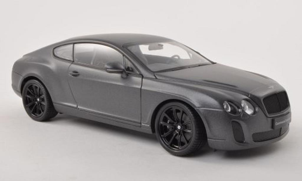 Bentley Continental Supersports 1/18 Welly matt-anthrazit miniature