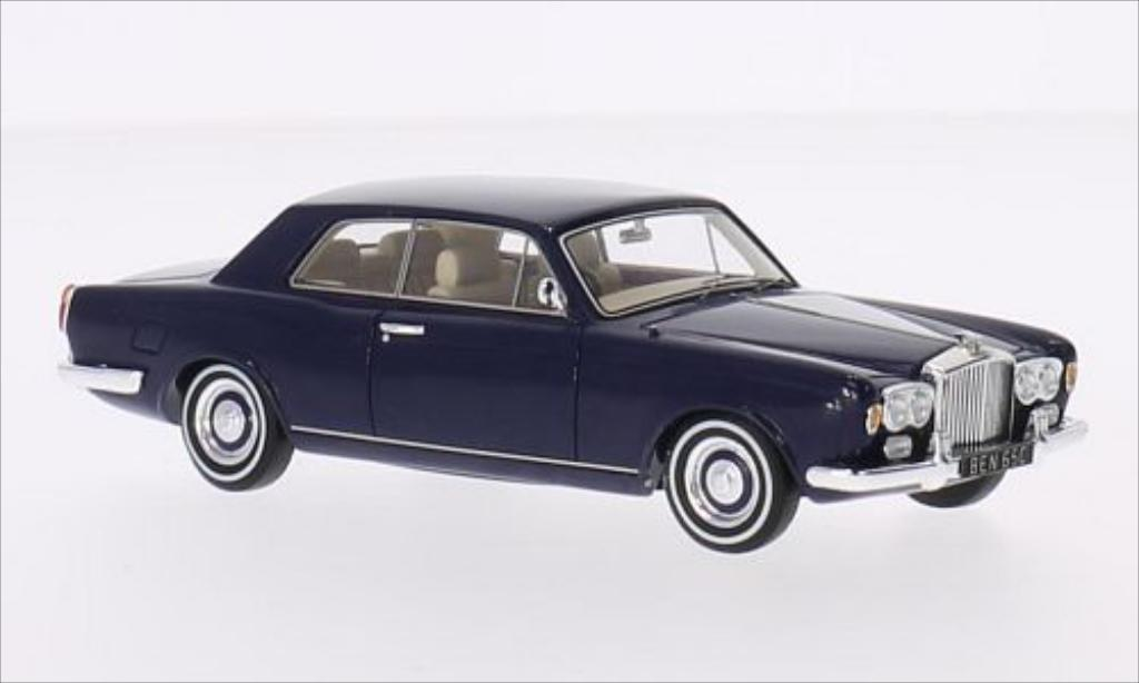 Bentley Continental T 1/43 Spark 2-Door Saloon Mulliner Park Ward bleu RHD 1967 miniature