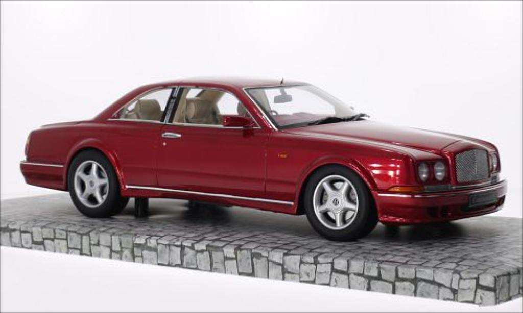 Bentley Continental T 1/18 Minichamps metallic-rouge RHD 1996 miniature