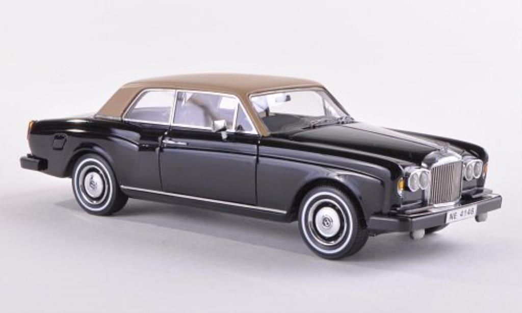 Bentley Corniche 1/43 Neo FHC black/beige RHD 1977 diecast model cars
