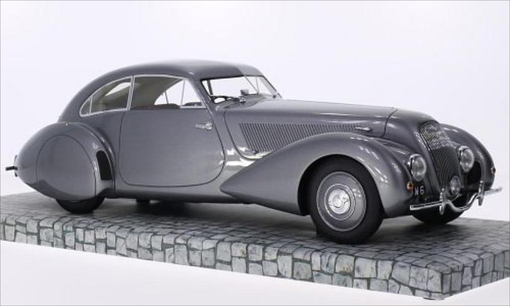Bentley Embiricos 1/18 Minichamps metallise grise RHD 1938 miniature