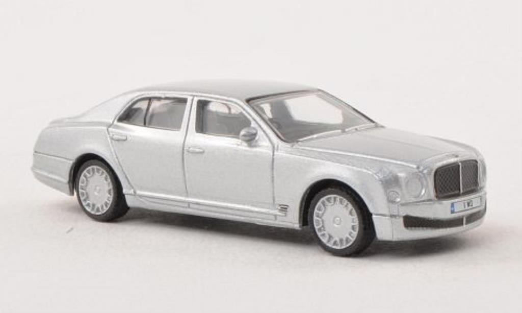 Bentley Mulsanne 1/76 Oxford grigia-grigia miniatura