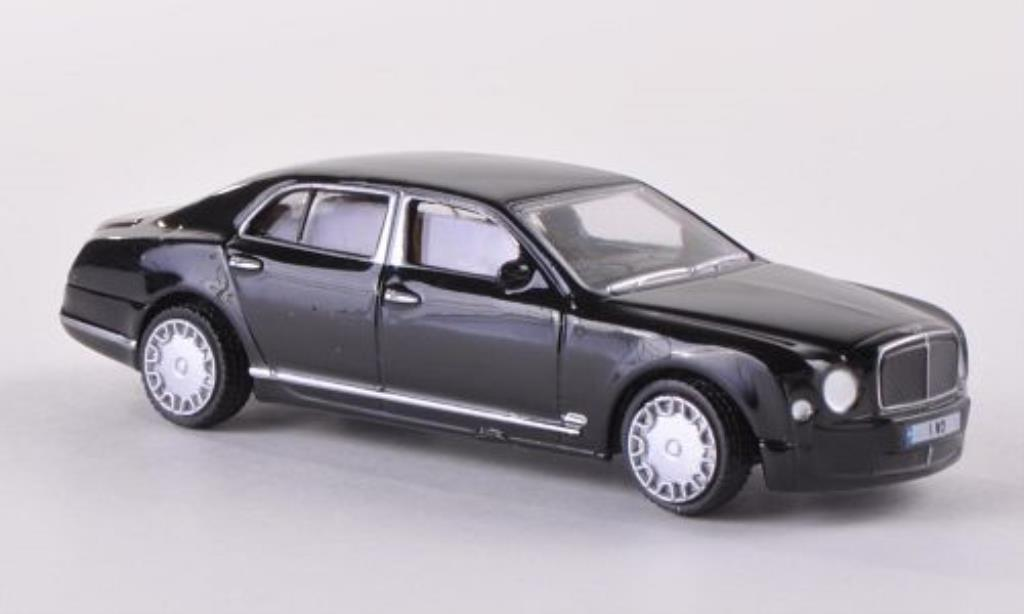 Bentley Mulsanne 1/76 Oxford nero miniatura