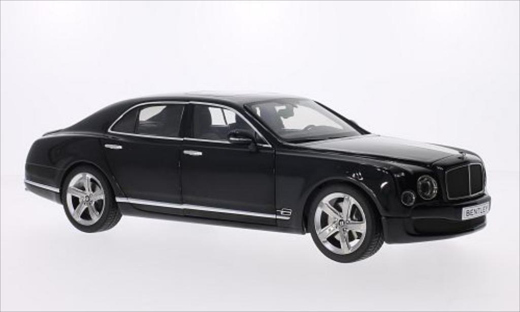 Bentley Mulsanne 1/18 Kyosho Speed metallise anthrazit 2014 modellino in miniatura