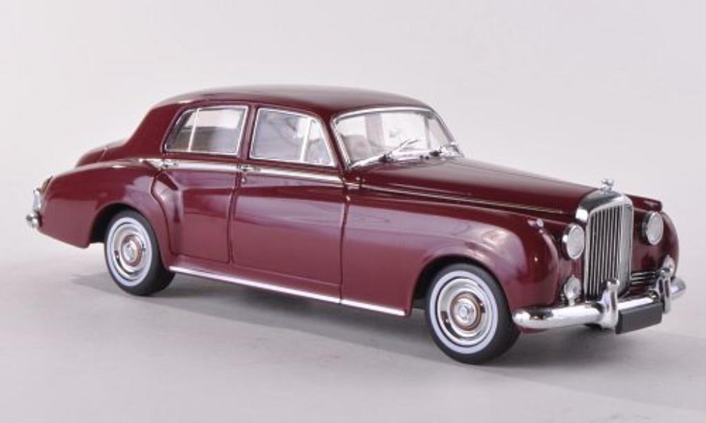 Bentley Continental S2 1/43 Minichamps S2 rouge 1960 miniature