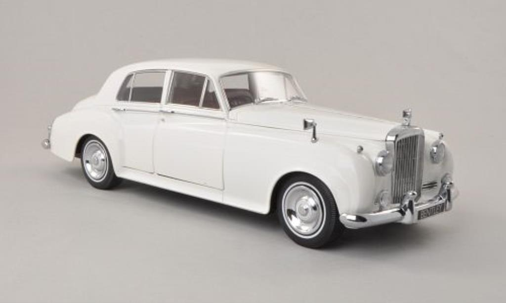 Bentley Continental S2 1/18 Minichamps white RHD 1954 diecast