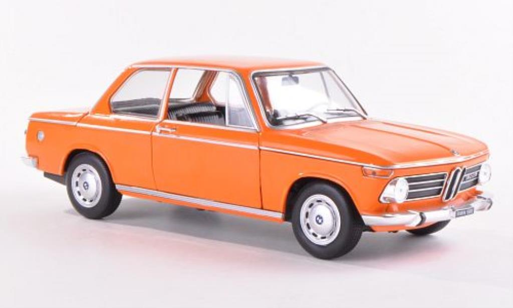 Bmw 1602 1/24 WhiteBox ti orange 1968 miniature