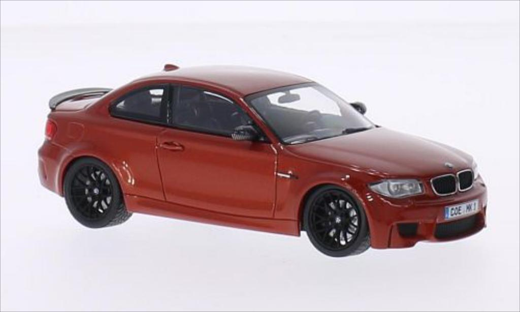 Bmw 1M 1/43 Minichamps Coupe E82 metallic-orange 2011 miniature