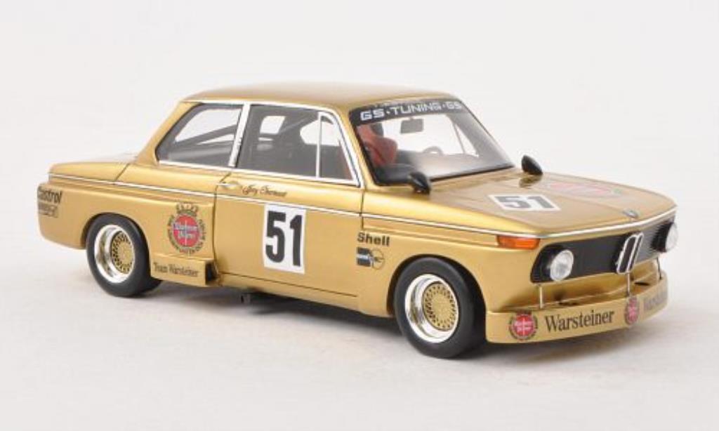 Bmw 2002 Tii 1/43 Spark No.51 Warsteiner DRM Nurburgring 1976 miniature