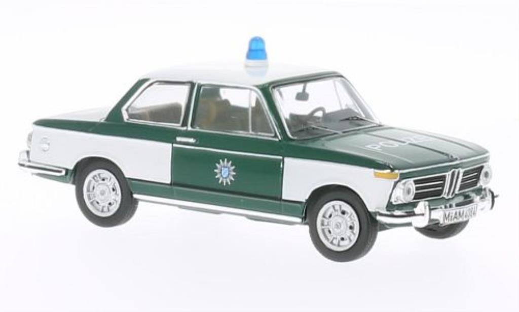 Bmw 2002 Tii 1/43 IXO Polizei 1972