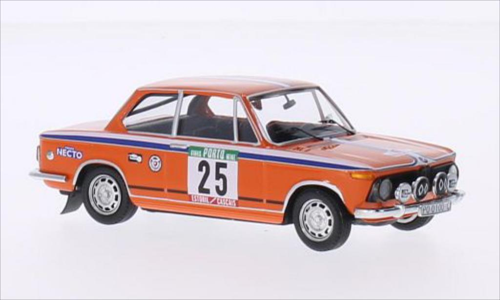 Bmw 2002 Tii 1/43 Trofeu No.25 Rallye WM Rallye Portugal 1975 /A.Doural miniature