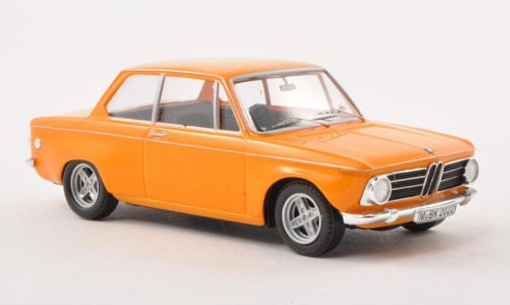 Bmw 2002 Ti 1/43 WhiteBox verbreitert orange limitierte Auflage 500 Stuck 1971 diecast