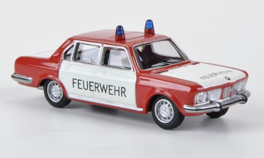 Bmw 2800 E3 1/87 Bub Feuerwehr ELW diecast model cars