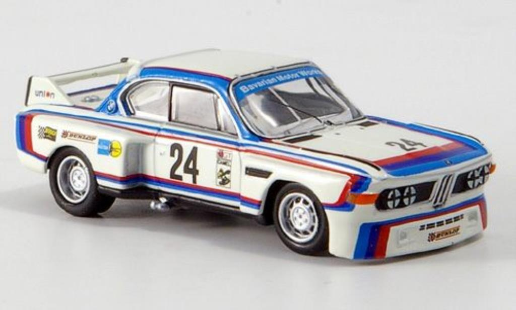 Bmw 3.5 CSL 1/87 Bub No.24 Riverside 1975 miniature