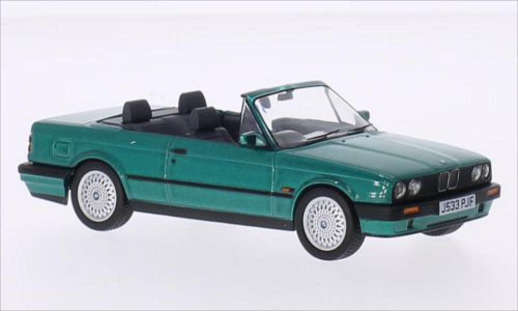 Bmw 318 E30 1/43 Vanguards i (E30) Cabriolet metallic-green RHD