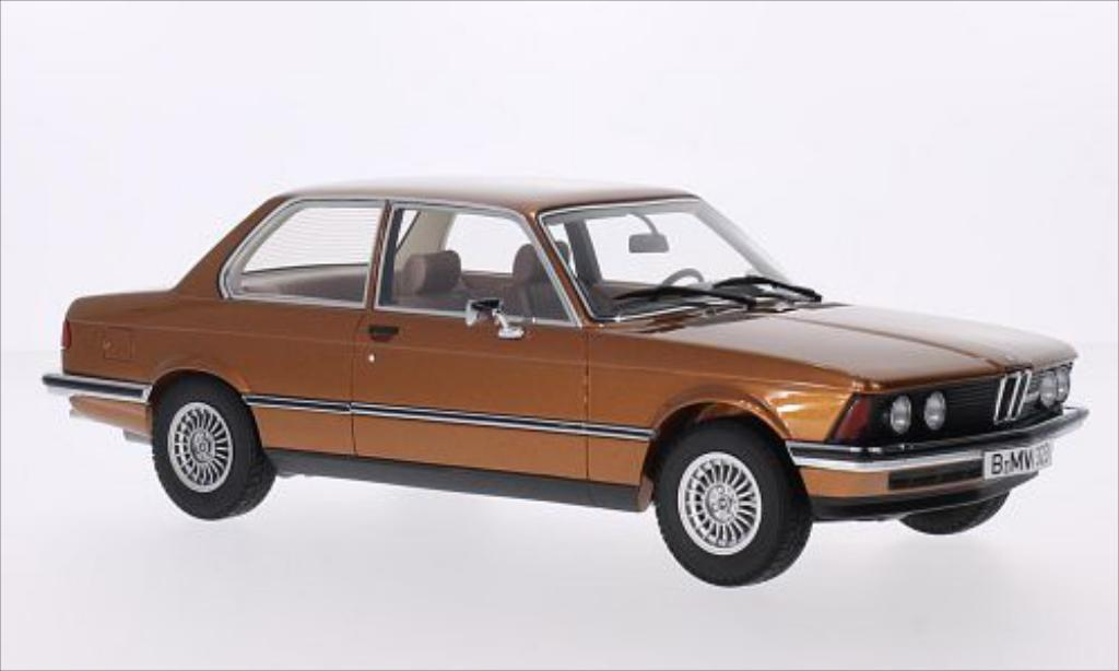Bmw 323 1/18 Minichamps (E21) metallise marron 1978 miniature