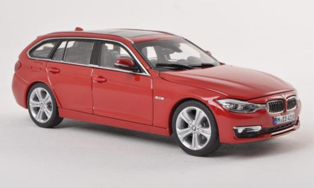 Bmw 335 F31 1/43 Paragon Touring rouge miniature