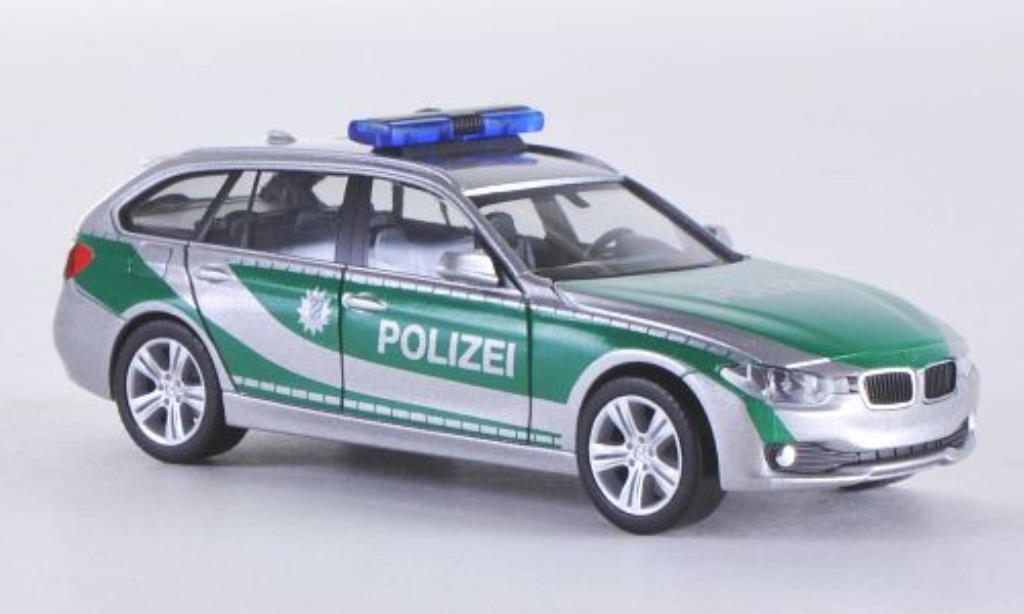 Bmw 335 F31 1/87 Herpa Touring Polizei Bayern 2012 miniature