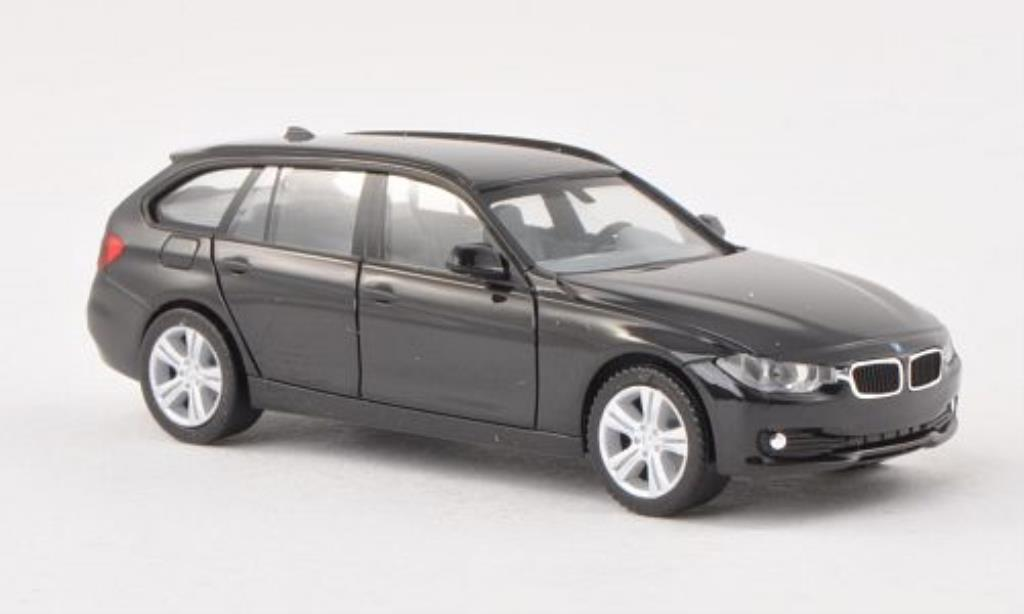 Bmw 330 F31 1/87 Herpa Touring black diecast