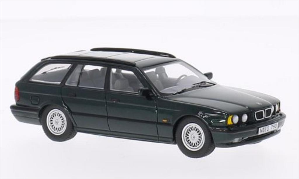 Bmw 530 1/43 Neo i (E34) Touring metallic-verte miniature
