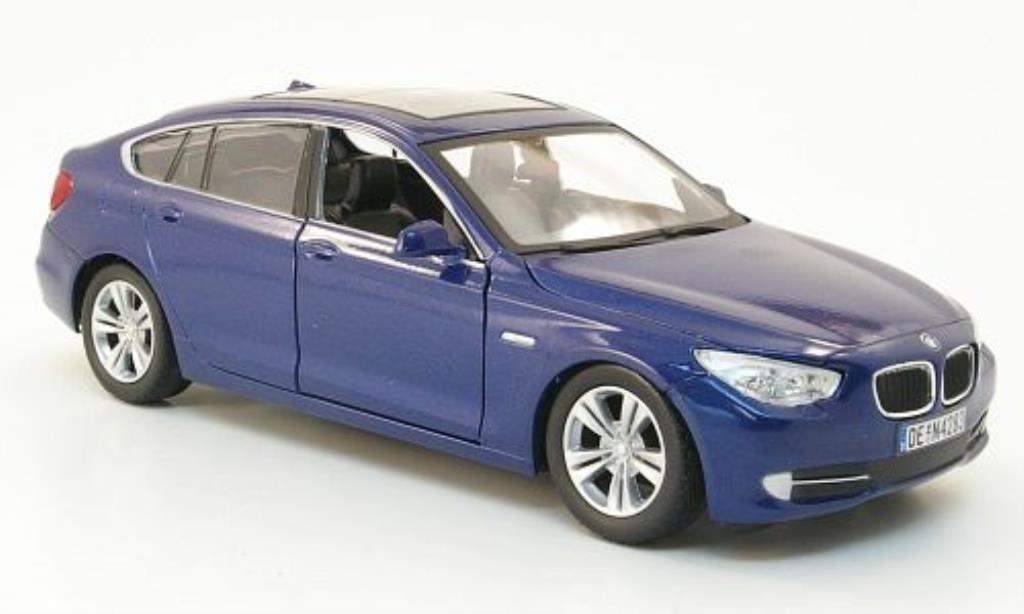 Bmw 550 F07 1/24 Motormax i Gran Turismo bleu miniature