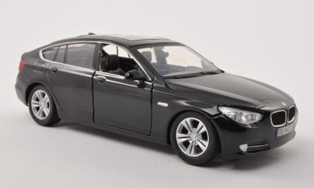 Bmw 535 F07 1/24 Motormax i Gran Turismo black 2010 diecast model cars