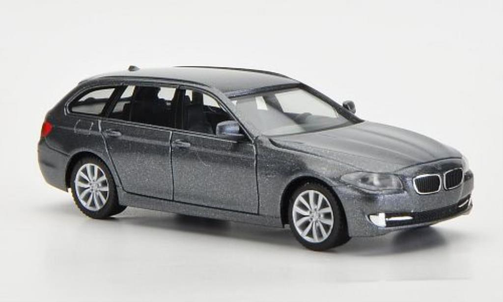 Bmw 530 F11 1/87 Herpa d Touring grey diecast model cars